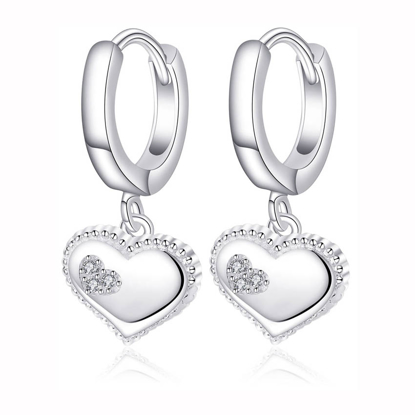 Picture of 925 Silver Jewelry,Clip Earrings- ER-536