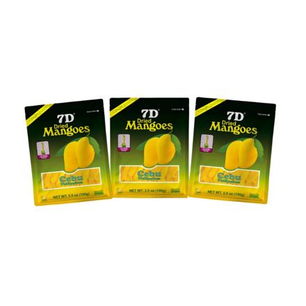 圖片 7D Dried Mangoes (100g) ,Cebu Dry mangoes,Pack of 3