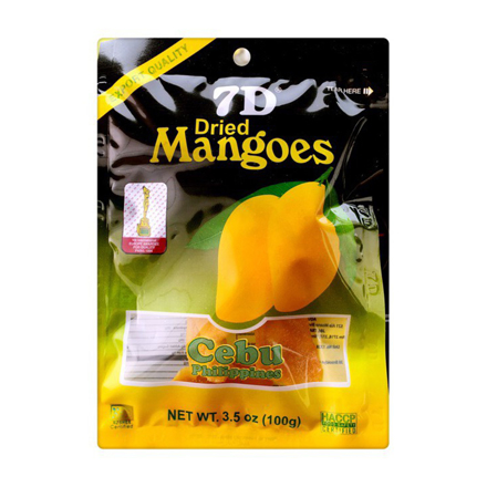 圖片 7D Dried Mangoes , Cebu 7D Dried Mangoes ( 100 grams)