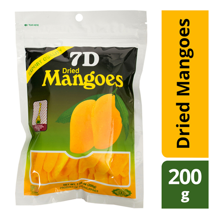 圖片 7D Dried Mangoes , Cebu 7D Dried Mangoes ( 200 grams)