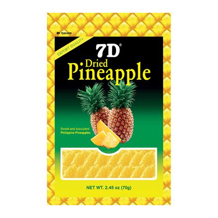圖片 7D Dried Pineapple (70g /Pack)