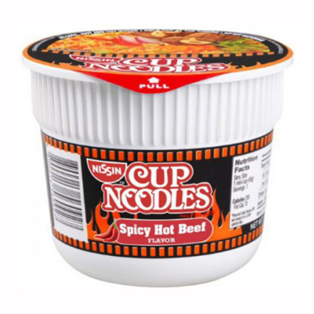 圖片 Nissin Cup Noodles Spicy Hot Beef 40g