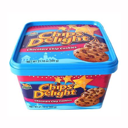 圖片 Chips Delight Chocolate Chip Cookies Tub 600g