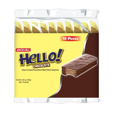 圖片 HELLO! Coated chocolate (10 x 15g)