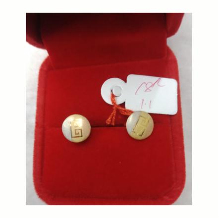 Picture of 18K - Saudi Gold Earrings 1.1g- SE11G