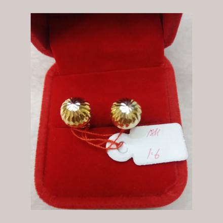 Picture of 18K - Saudi Gold Earrings 1.6g- SE16G