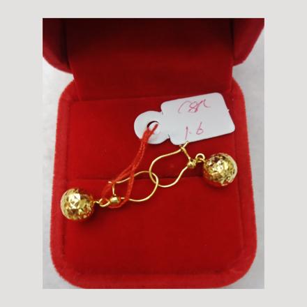 Picture of 18K - Saudi Gold Earrings 1.6g- SE16G1
