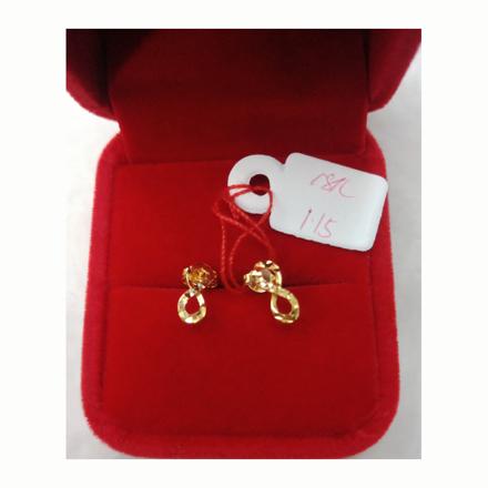 Picture of 18K - Saudi Gold Earrings 1.15g- SE115G