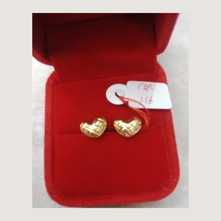 Picture of 18K - Saudi Gold Earrings 1.16g- SE116G