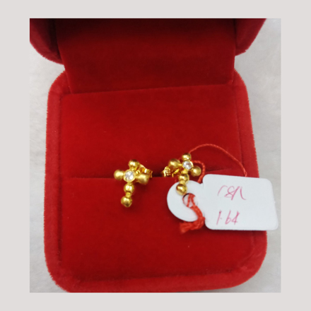 Picture of 18K - Saudi Gold Earrings 1.64g- SE164G