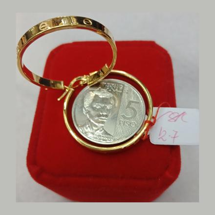 Picture of 18K - Saudi Gold Earrings 2.7g- SE27G1