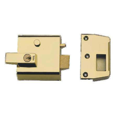 圖片 Rim Locks, Double Cylinder Security Latch P1