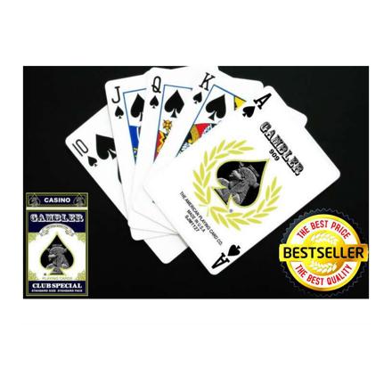 圖片 Gambler Playing cards, Red Cards (52Cards) -red Card Deck