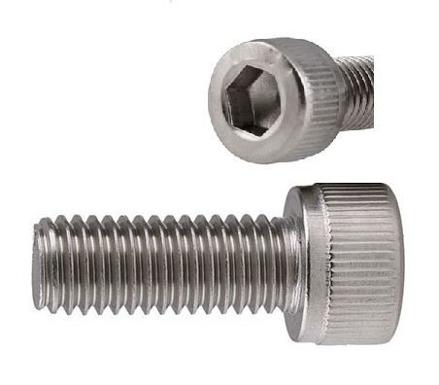 圖片 304 Stainless Steel Socket Cap Screw, Internal Hex Drive