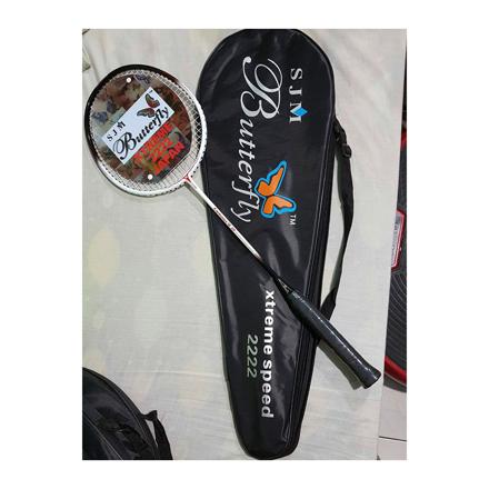 圖片 Butterfly Carbonex 15P, Xtreme Speed 222, High Modulus Carbon Graphite Badminton Racket, One Piece, U04BRCG