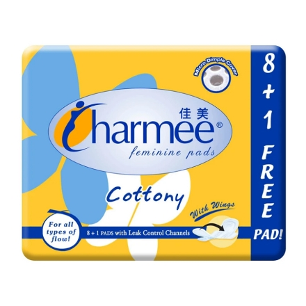 Picture of Charmee Cottony For All Types of Flow with Wings,  CHA38