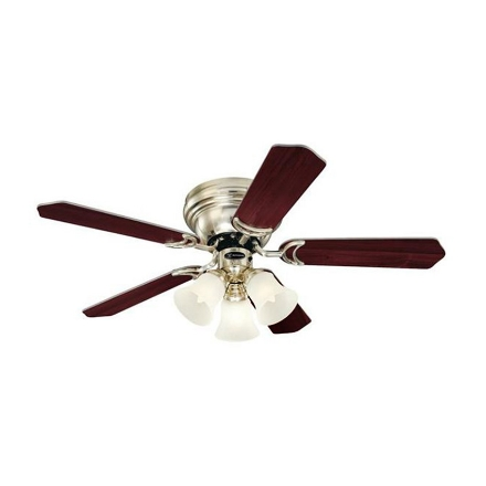 """Picture of Westinghouse Contempra Trio 42"""" Brushed Nickel Ceiling Fan, WH5NH42BNF"""