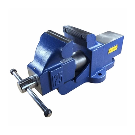 """Picture of S-Ks Tools USA Heavy Duty 4"""" Bench Vise with Anvil (Blue/Silver), CT-601-RV4"""
