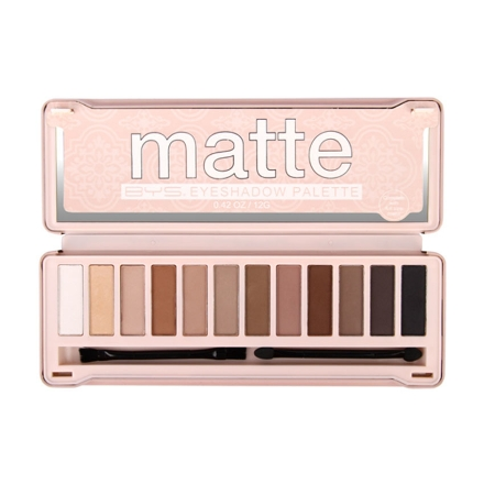 Picture of BYS Matte 12pcs Eyeshadow Palette, CO/ESOMAT