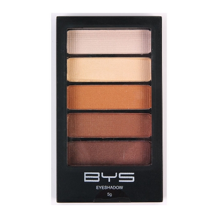 Picture of BYS Horizontal Eyeshadow Palette 5-piece (Natural Delight, Sun Kissed), CO/ESH5ND