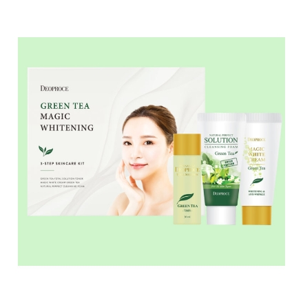Picture of Deoproce Green Tea Magic Whitening Set, 70054119