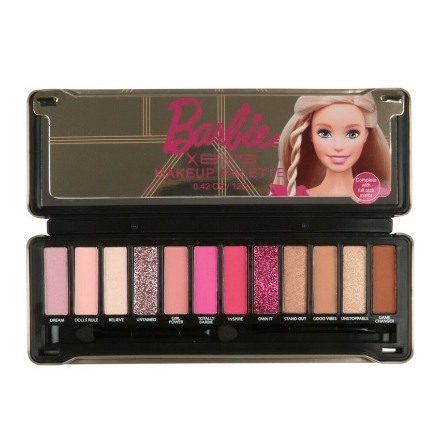 Picture of BYS x Barbie Eyeshadow Palette in Tin (Rockin' The Dreamhouse), CO/ESOBRD