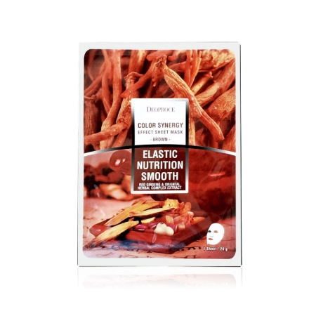 Picture of Deoproce Color Synergy Effect Sheet Mask Elastic Nutrition Smooth (Brown), 38079795
