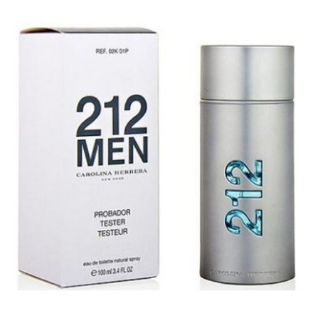 Picture of 212 Men Tester 100 ml, 212TESTER