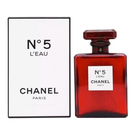 Picture of Chanel No.5 Leau Red Women Authentic Perfume 100 ml, CHANELLEAURED