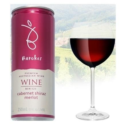 图片 Barokes Cabernet Sauvignon Shiraz & Merlot  Australian Red Wine 250 ml, BAROKESCABERNET