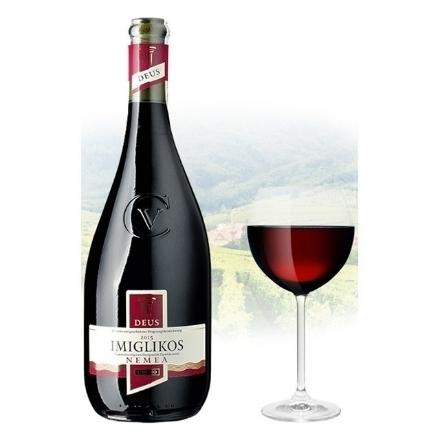 Picture of Cavino Deus Imiglikos Semi-Sweet Red Greek Red Wine 750 ml, CAVINODEUS
