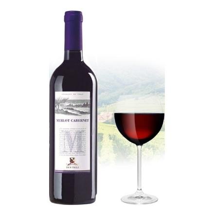 Picture of Due Tigli Merlot & Cabernet Italian Red Wine, DUETIGLI