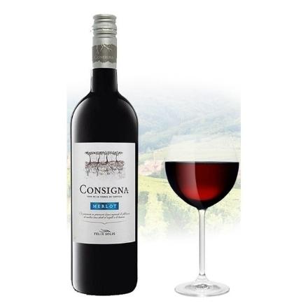 Picture of Consigna Merlot Spanish Red Wine 750ml, CONSIGNAMERLOT