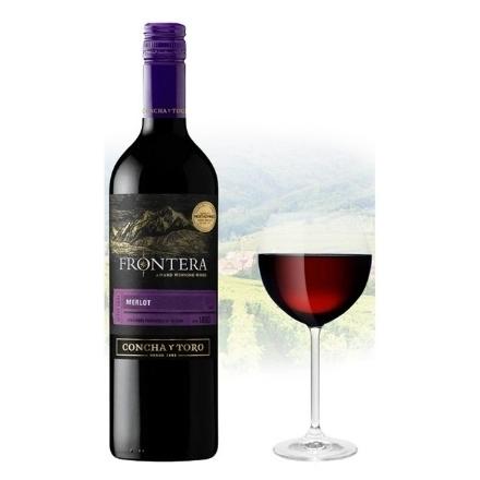 Picture of Frontera After Dark Merlot Chilean Red Wine 750ml, FRONTERAAFTER