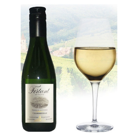 Picture of Fortant de France Chardonnay French White Wine 187ml Miniature, FORTANTCHARDONNAY