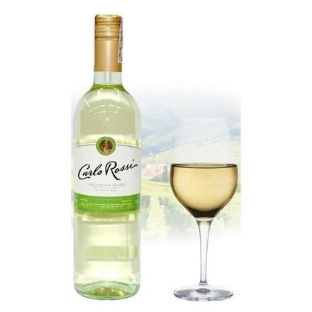 Picture of Carlo Rossi White Californian White Wine 750 ml, CARLOROSSIWHITE