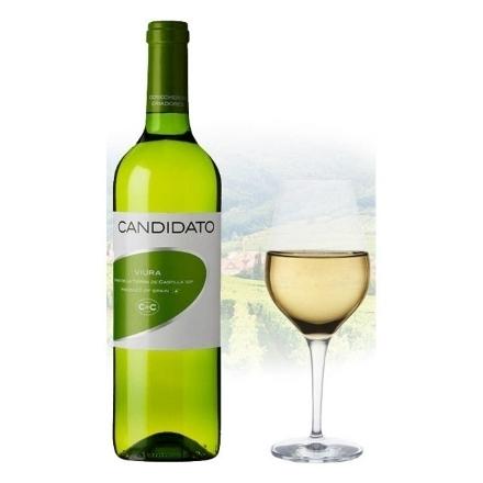 Picture of Cosecheros y Criadores Candidato Viura Spanish White Wine 750 ml, COSECHEROSVIURA