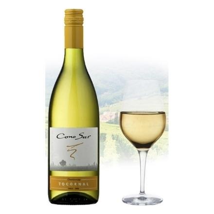 Picture of Cono Sur Tocornal Chardonnay Chilean White Wine 750 ml, CONOSURCHARDONNAY
