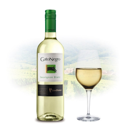 Picture of Gato Negro Sauvignon Blanc Chilean White Wine 750 ml, GATONEGROBLANC