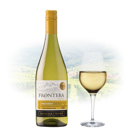 Picture of Frontera Chardonnay Chilean White Wine 750 ml, FRONTERACHARDONNAY