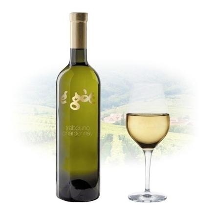 Picture of Egot Bianco Trebbiano & Chardonnay Italian White Wine 750 ml, EGOTBIANCOTREBBIANO