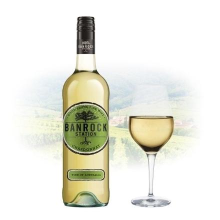 图片 Banrock Station Chardonnay Australian White Wine 750 ml, BANROCKCHARDONNAY