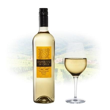 Picture of Espíritu de Chile Semi Sweet Sauvignon Blanc Chilean White Wine 750 ml, ESPIRITUSAUVIGNON