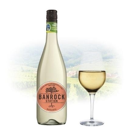 图片 Banrock Station Moscato Australian White Wine 750 ml, BANROCKMOSCATO