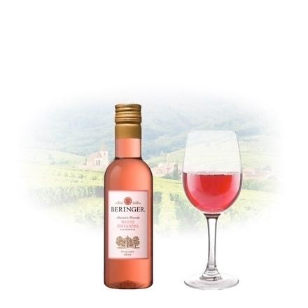 图片 Beringer Main & Vine White Zinfandel Californian Pink Wine 187ml Miniature, BERINGERZINFANDEL