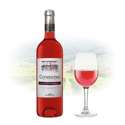 Picture of Consigna Rosado Tempranillo Spanish Pink Wine 750 ml, CONSIGNATEMPRANILLO