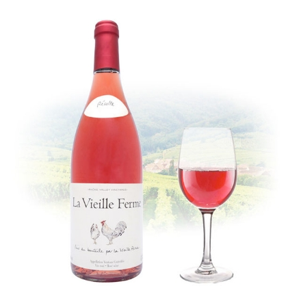 Picture of Famille Perrin La Vieille Ferme Rose French Pink Wine 750 ml, FAMILLEPERRINROSE