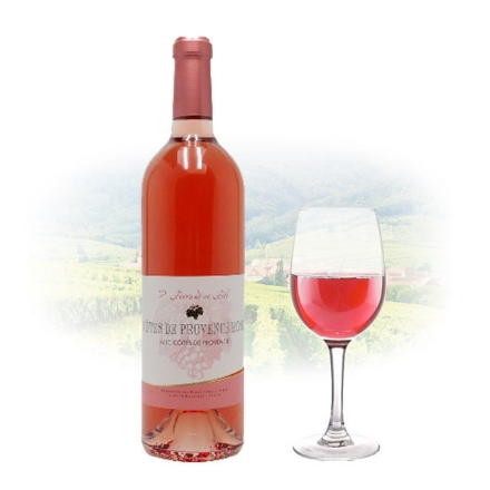 Picture of Ferraud & Fils Côtes de Provence Rose French Pink Wine 750 ml, FERRAUDROSE