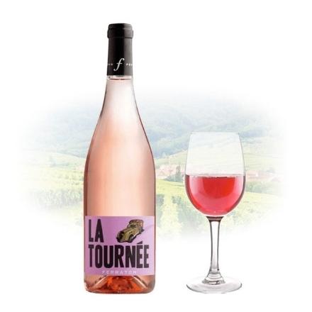 Picture of Ferraton Pere & Fils La Tournée Rose French Pink Wine 750 ml, FERRATONROSE