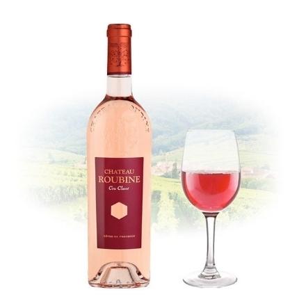 Picture of Chateau Roubine Cru Classe Rose French Pink Wine 750 ml, CHATEAUCLASSEROSE